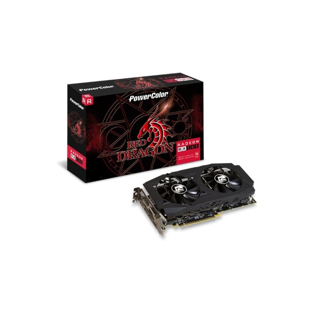 VGA PowerColor Radeon Red Dragon RX 580 8GB